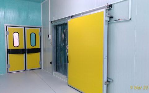 Donuk Muhafaza Odası ve Soğuk Oda Kapıları