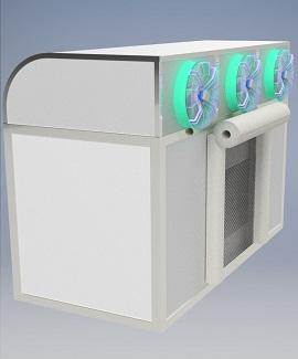 Neme Doymuş Havalı Soğutma Sistemleri