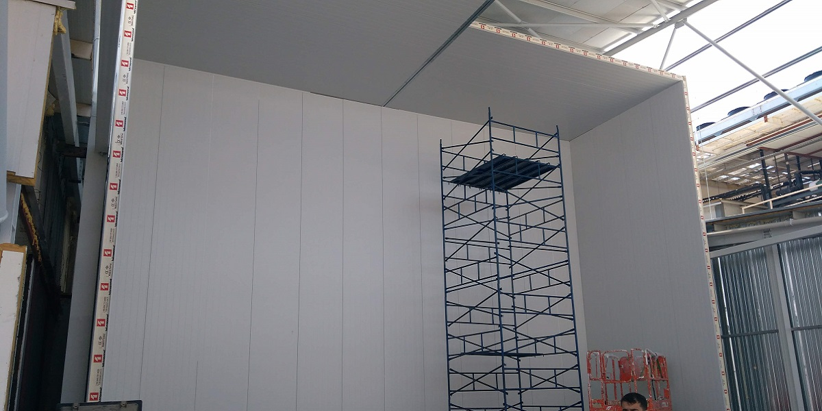 soğuk depo tavan panel